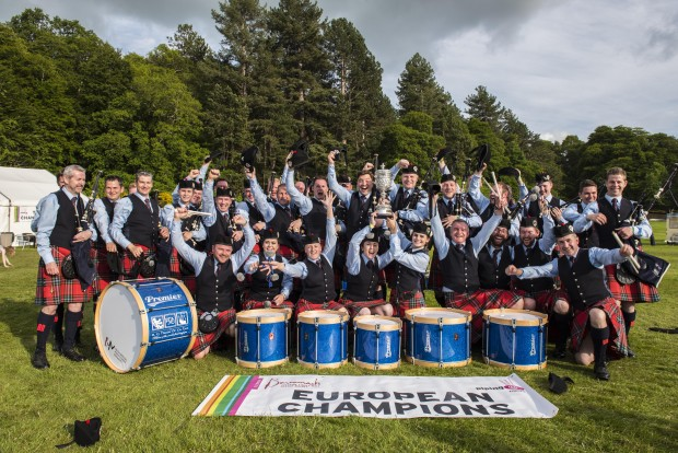 The European Pipe Band Champions 2015 John Paul Photography