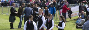 Euro Pipe Band Championships Forres Morayshire