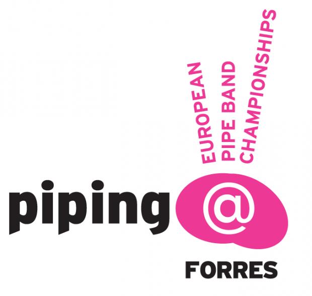 Piping At Forres' new logo