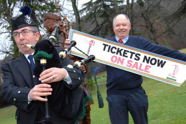 Piping Forres 2016 Ticket Sales